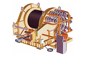 image of industrial winches